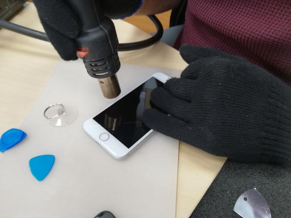 Smartphone reparatur display