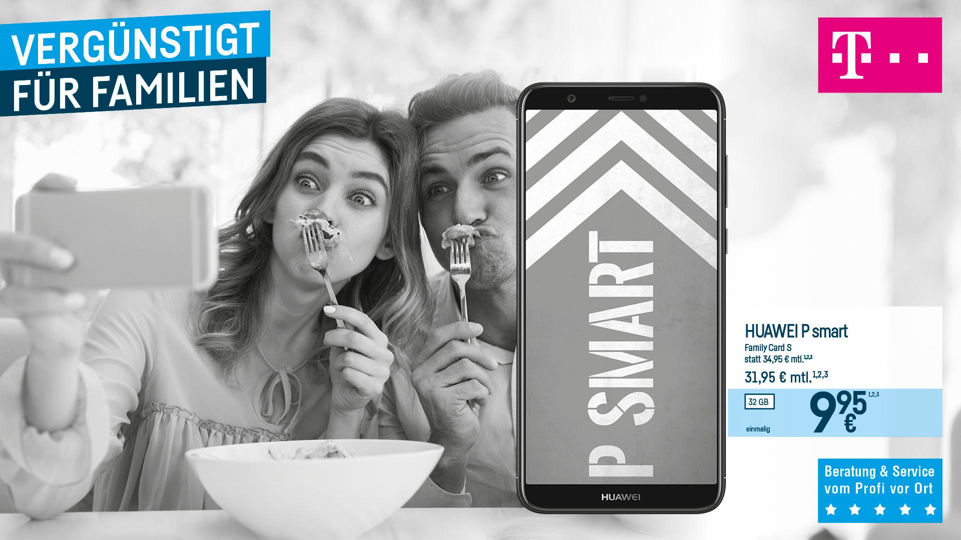 Vergünstigt für Familien - Huawei P smart
